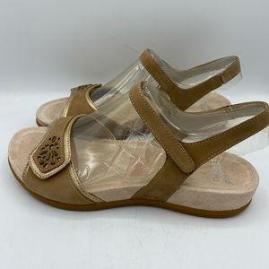 Dansko Blythe Milled Nubuck Sandals
